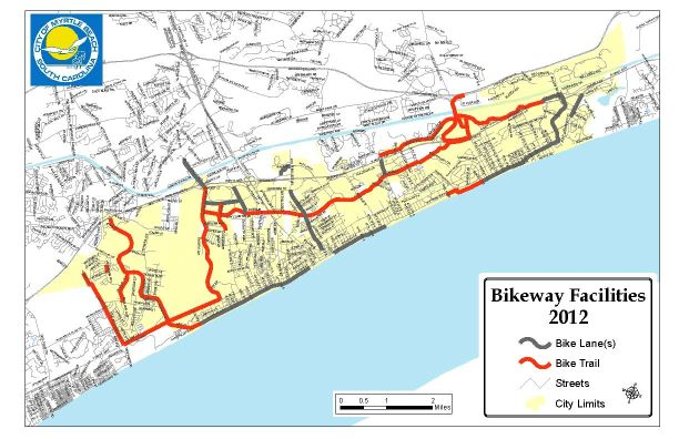Click to see Full-Size Map of Myrtle Beach SC Bicycle Trails!